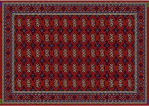 انواع فرش گبه زیبا